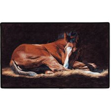 Good as Gold Foal Doormat
