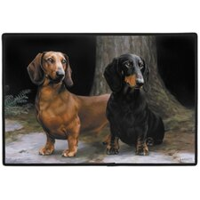 Dachshunds / Path Doormat
