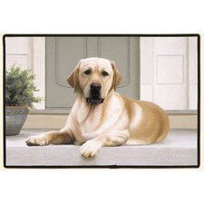 Yellow Lab Porch Doormat