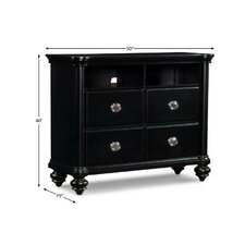 Danbury 4 Drawer Media Chest