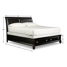 Danbury Storage Sleigh Bed