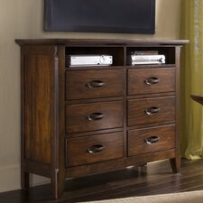 <strong>Klaussner Furniture</strong> Carturra 6 Drawer Dresser