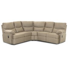 Bristol Wedge Left Arm Facing Reclining Loveseat