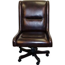 High Back Leather Desk Chair