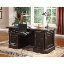 Venezia Double Pedestal Executive Desk