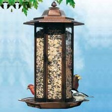 Tall Tulip Decorative Bird Feeder