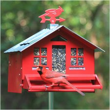 Squirrel-Be-Gone II Country Style Hopper Bird Feeder