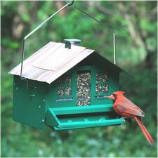 Squirrel-Be-Gone II Home Style Hopper Bird Feeder