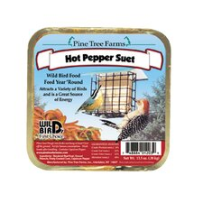 Hot Pepper Never Melt Suet Cake