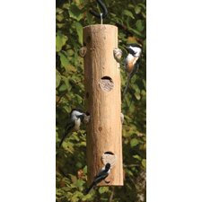 Log Jammer Tube Bird Feeder