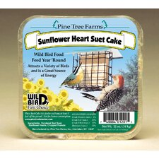 Sunflower Hearts Suet Cake Wild Bird Food