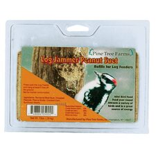 Woodpecker Log Jammer Wild Bird Food