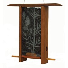 Bamboo Grove Teahouse Hopper Bird Feeder