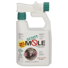 Mole Repellent with Hose End Applicator Bottle