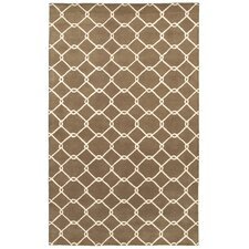 Jaali Brown Rug
