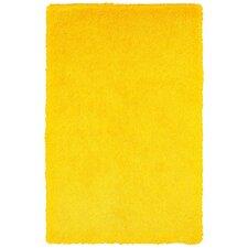Senses Shag Yellow Area Rug