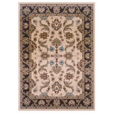 <strong>LR Resources</strong> Adana Cream/Brown Rug