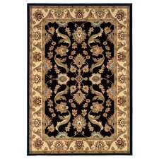 <strong>LR Resources</strong> Adana Black/Cream Persian Rug