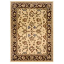 <strong>LR Resources</strong> Adana Cream/Brown Persian Rug