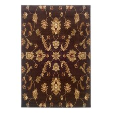 <strong>LR Resources</strong> Adana Brown Traditional Design Rug