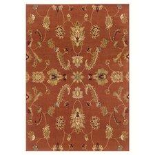 Adana Rust Traditional Design Rug