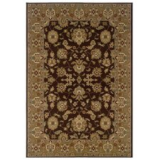 <strong>LR Resources</strong> Adana Brown/Gold Persian Rug