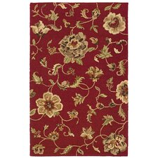 <strong>LR Resources</strong> Dazzle Interlinked Roses Rug