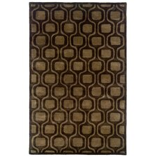 <strong>LR Resources</strong> Majestic Charcoal Geometric Rug