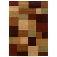 <strong>LR Resources</strong> Opulence Geometric Patchwork Rug