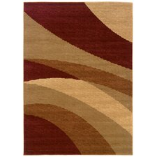 Opulence Abstract Curves Rug