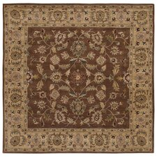 <strong>LR Resources</strong> Shapes Brown/Gold Persian Rug