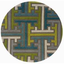 Vibrance Miami Geometric Puzzle Rug