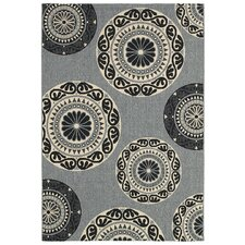 <strong>LR Resources</strong> Lanai Gray Rug