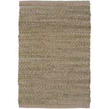 Natural Fiber Light Green Rug