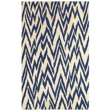 <strong>LR Resources</strong> Dazzle Beige/Blue Rug