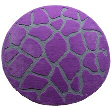 Fashion Purple Giraffe Area Rug