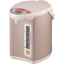 "<strong>Zojirushi</strong> Micom 11.5"" Water Boiler and Warmer in Champagne Gold"