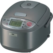 Induction Heating 3-Cup Rice Cooker and Warmer