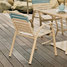 Cape May Stacking Dining Arm Chair