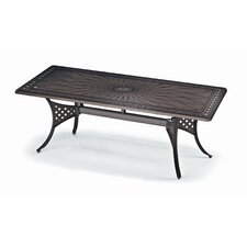 92'' Rectangle Cast Aluminum Table
