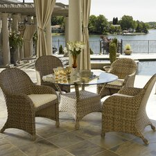 <strong>Telescope Casual</strong> Key Biscayne 5 Piece Dining Set