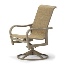 <strong>Telescope Casual</strong> Ocala Swivel Dining Arm Chair