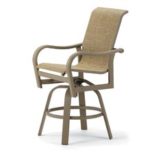 Ocala Counter Height Swivel Dining Arm Chair
