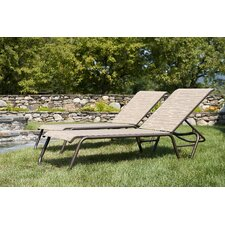 <strong>Telescope Casual</strong> Quick Ship Gardenella Chaise Lounge (Set of 2)