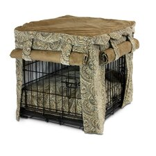 <strong>Snoozer Pet Products</strong> Cabana Pet Crate Cover with Pillow Dog Bed