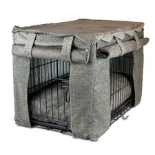 Cabana Pet Crate Cover with Pillow Dog Bed