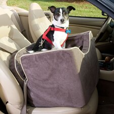 Luxury Lookout I Pet Car Seat in Microsuede