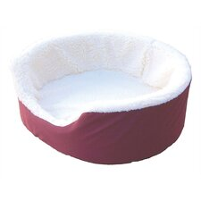 <strong>Snoozer Pet Products</strong> Sherpa Nesting Nest Dog Bed