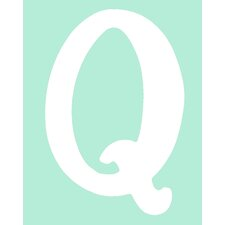 "Capital Letters ""Q"" Wall Art"