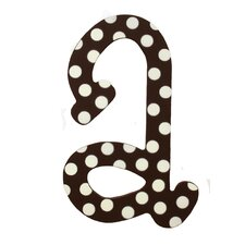 Polka Dot Letters Hanging Initials
